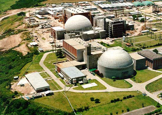 Centrales nucleares Atucha I y II